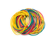 Colorful rubber bands Royalty Free Stock Image