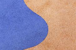 Colorful rubber flooring Royalty Free Stock Image