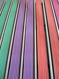 Colorful rubber lines, industry details, Stock Photo