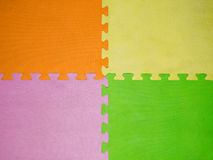 Colorful of rubber sheet Royalty Free Stock Photography