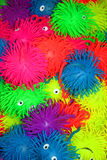 Colorful rubber toys Stock Photography