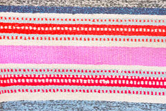 Colorful rug Stock Image
