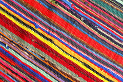Colorful rug Stock Images