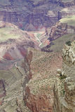 Colorful  Rugged Grand Canyon Landscape Royalty Free Stock Photography