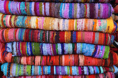 Colorful rugs Stock Photos