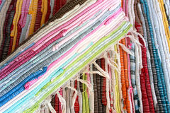 Colorful rugs Royalty Free Stock Image