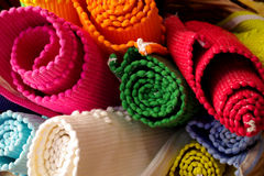 Colorful Rugs stock photography