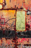Colorful Rusty Art 4 Stock Photos