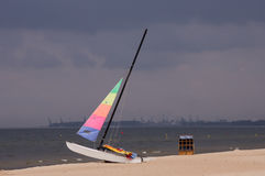 Colorful sailboat Royalty Free Stock Photo