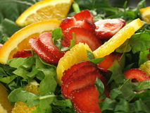Colorful salad Royalty Free Stock Images