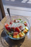 Colorful Salad Bowl of Health Royalty Free Stock Photo