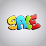 Colorful Sale Royalty Free Stock Image