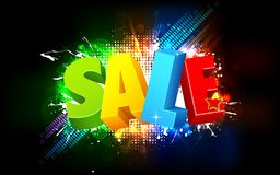 Colorful Sale Royalty Free Stock Photo