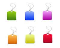 Colorful Sale Label and İcon Stock Photography