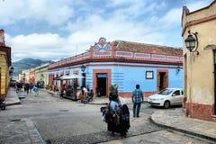 Colorful San Cristobal de las Casas Stock Image