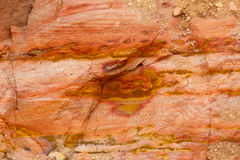 Colorful Sand Rock. Royalty Free Stock Image