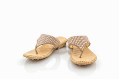 Colorful of Sandals shoes. Stock Photos