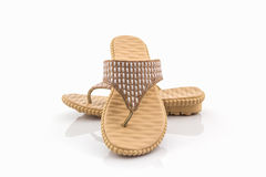 Colorful of Sandals shoes. Royalty Free Stock Photo