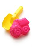 Colorful sandbox toys Stock Photography