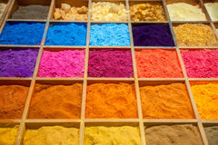 Colorful sands Royalty Free Stock Photo
