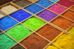 Colorful sands Royalty Free Stock Photography