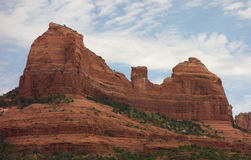 Colorful sandstone cliffs in arizona Stock Photo