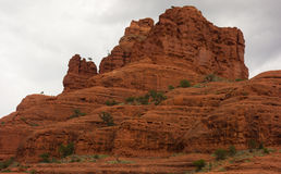 Colorful sandstone cliffs in arizona Stock Images