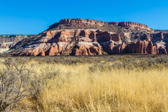 Colorful Sandstone Hills in Arizona / New Mexico area. Stock Photography