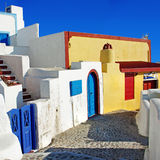 Colorful  Santorini Royalty Free Stock Images