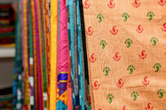 COLORFUL SAREES Stock Images