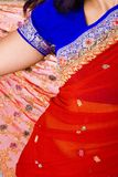Colorful Sari Detail Royalty Free Stock Photography