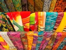 Colorful Sarongs in Bali. Royalty Free Stock Photos