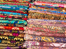 Colorful Sarongs in Bali. Royalty Free Stock Images