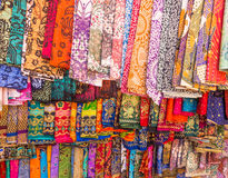 Colorful Sarongs in Bali. Stock Image