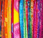 Colorful Sarongs in Bali. Stock Photos
