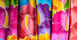 Colorful sarongs (balinese cloth) Stock Photography