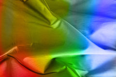 Colorful Satin Background Stock Image