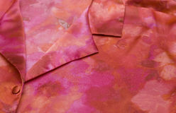 Colorful satin blouse Stock Photography