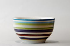 Colorful saucer. Royalty Free Stock Image
