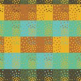 Colorful sbstract seamless vector checkered pattern vector illustration