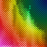 Colorful scales pattern Royalty Free Stock Photography