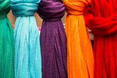 Colorful scarf Royalty Free Stock Photo