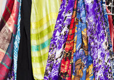 Colorful scarf Stock Images