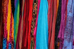 Colorful scarf Stock Photography