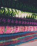 Colorful scarfs. Stock Photo