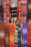 Colorful Scarves of Essaouira, Morocco Stock Photography