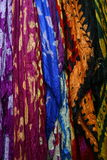 Colorful Scarves and Pashminas Stock Photos
