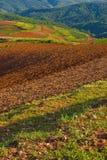 Colorful scenery of hongtudi (1) Stock Photo