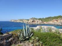 Scenery on the way to the bathing bay Cala de Moro, Mallorca Royalty Free Stock Photography