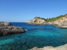 Scenery on the way to the bathing bay Cala de Moro, Mallorca Stock Photos